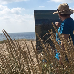 Painting in Walberswick and Southwold